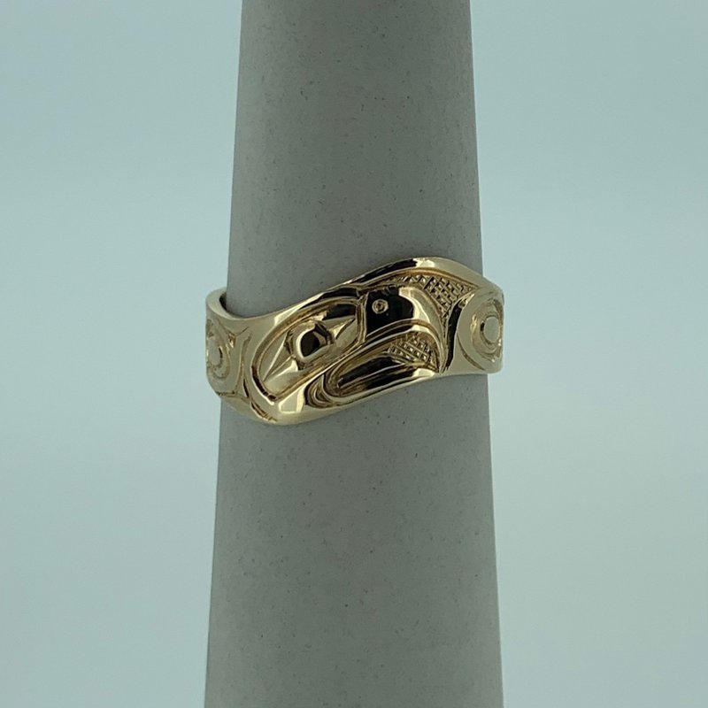 First Nations Jewellery Eagle Wave Ring
