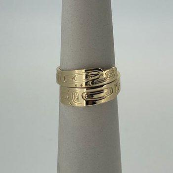 Eagle Wrap Ring
