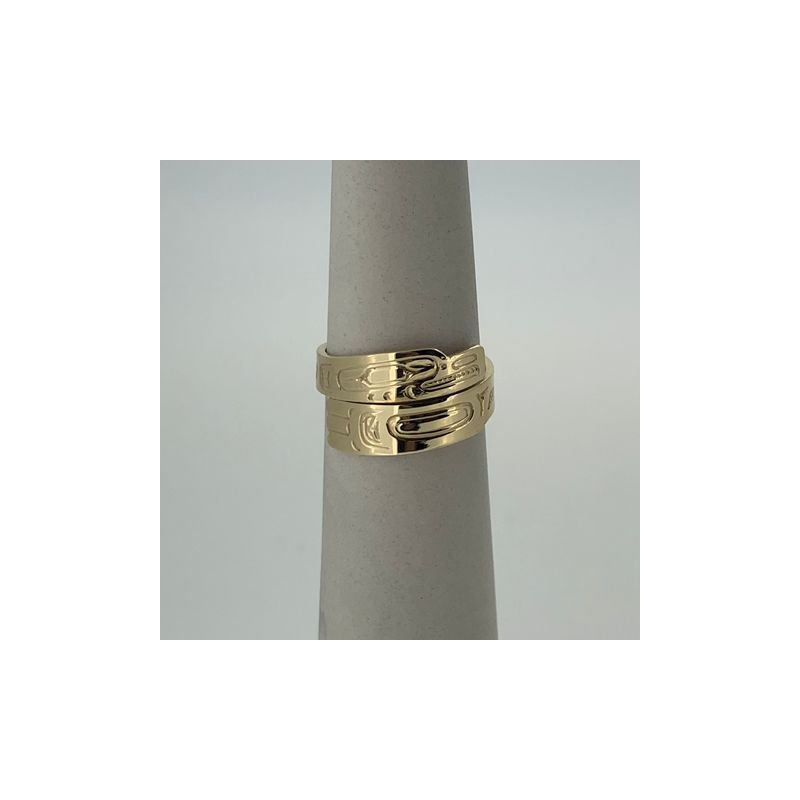 First Nations Jewellery Eagle Wrap Ring