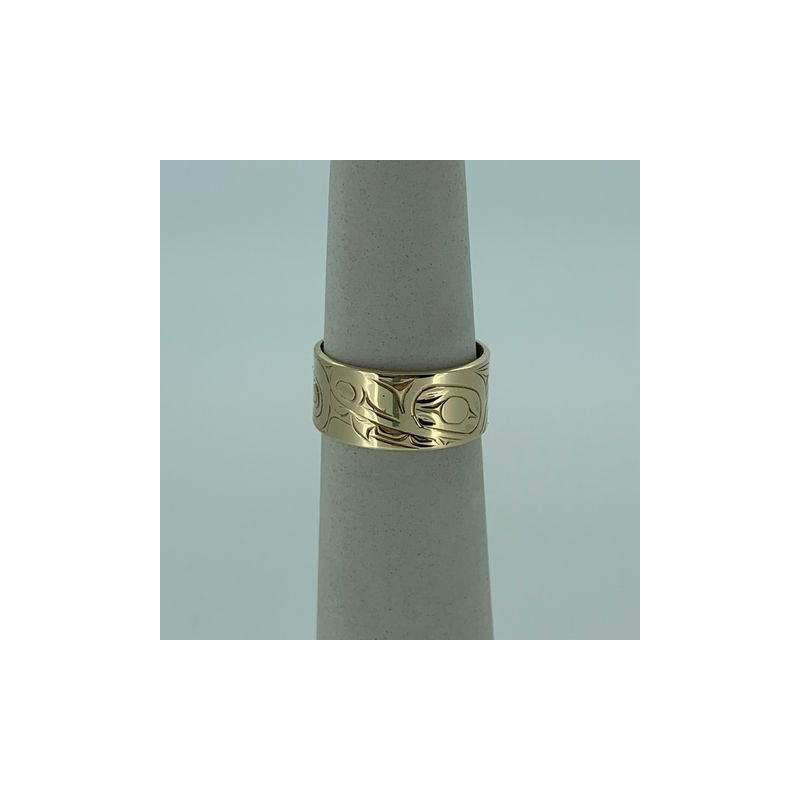 First Nations Jewellery Wolf Ring
