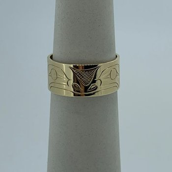 Yellow Gold Frog Ring