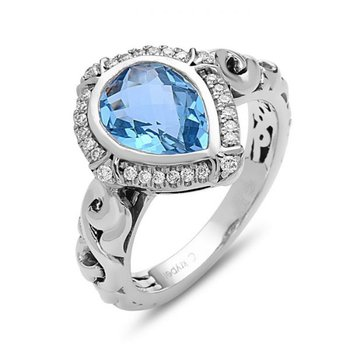 Ellah Blue Topaz Ring