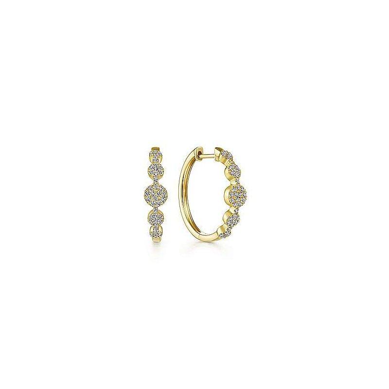 Gabriel Fashion 14K Yellow Gold Fashion Earrings