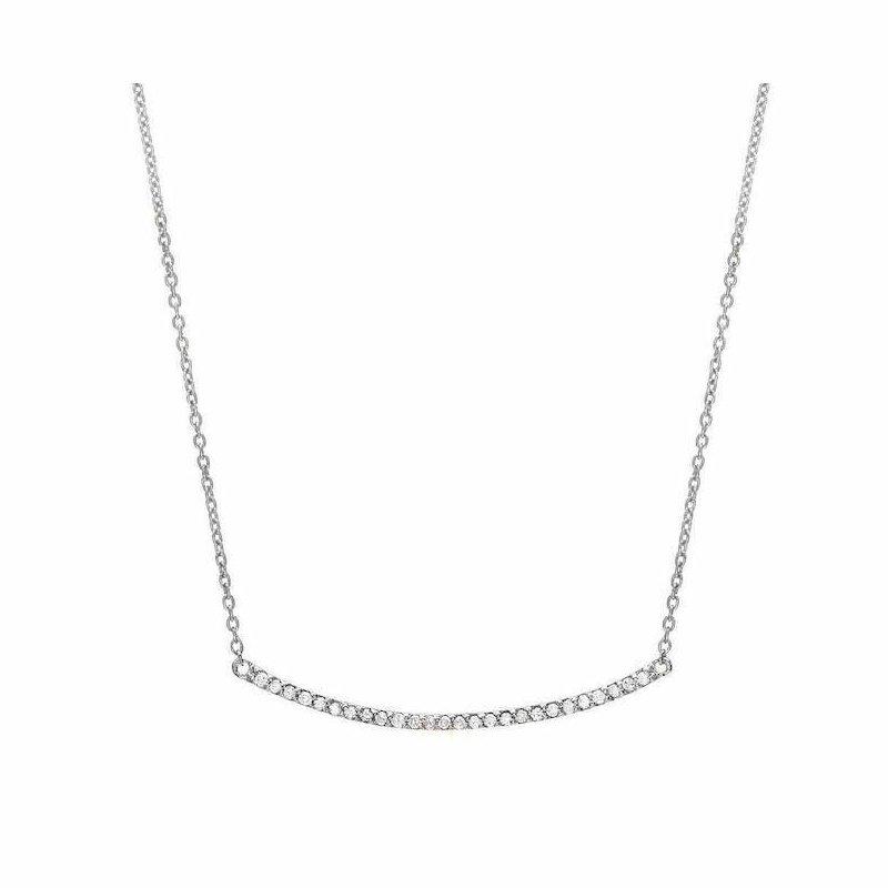 Liven Co. Diamond Bar Necklace