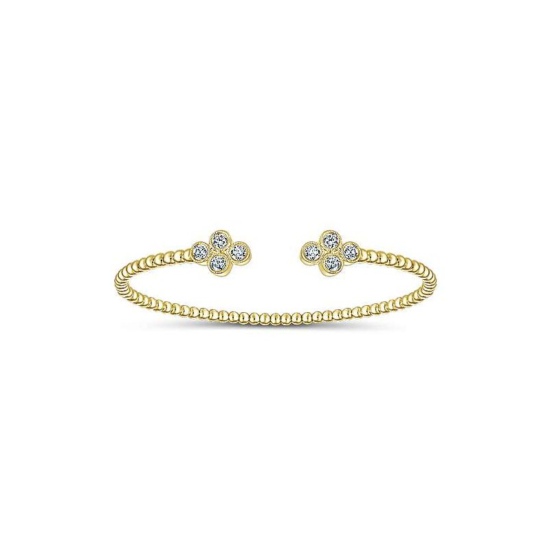 Gabriel Fashion 14K Yellow Gold Fashion Bangle