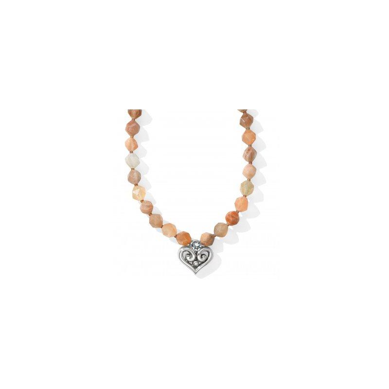Brighton Alcazar Heart Short Necklace