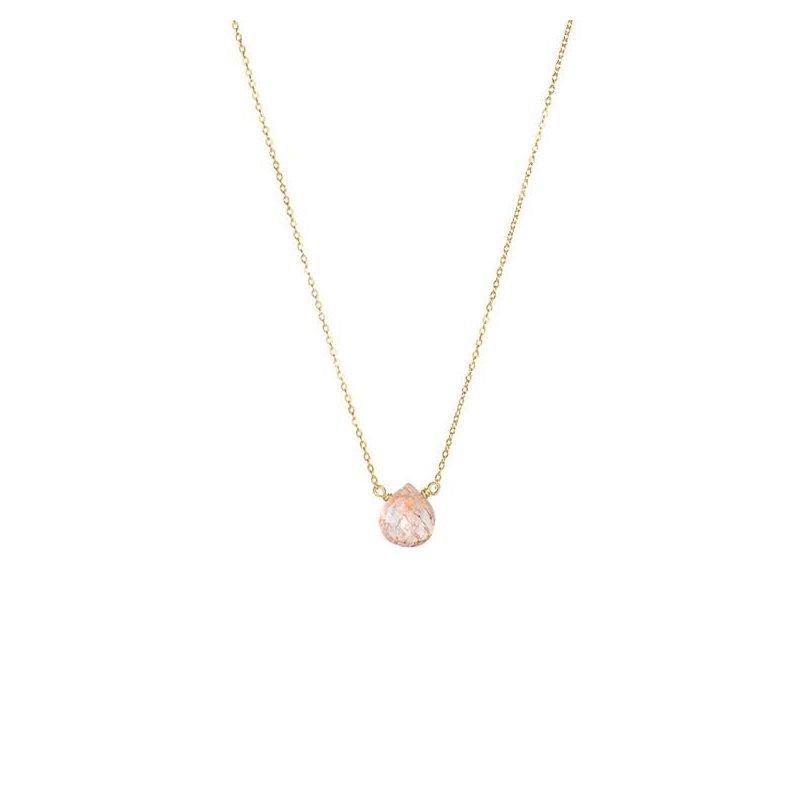 Hinchliffe Jewelry SUNSTONE NECKLACE