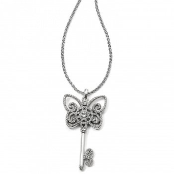 Illumina Butterfly Key Necklace