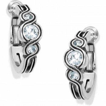 Infinity Sparkle Hoop Earrings