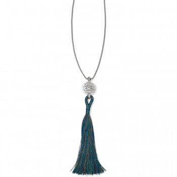 Ferrara Medallion Tassel Necklace