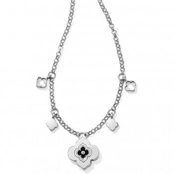 Toledo Alto Noir Pendant Charm Necklace