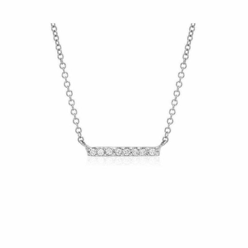 Liven Co. Petite Diamond Bar Necklace