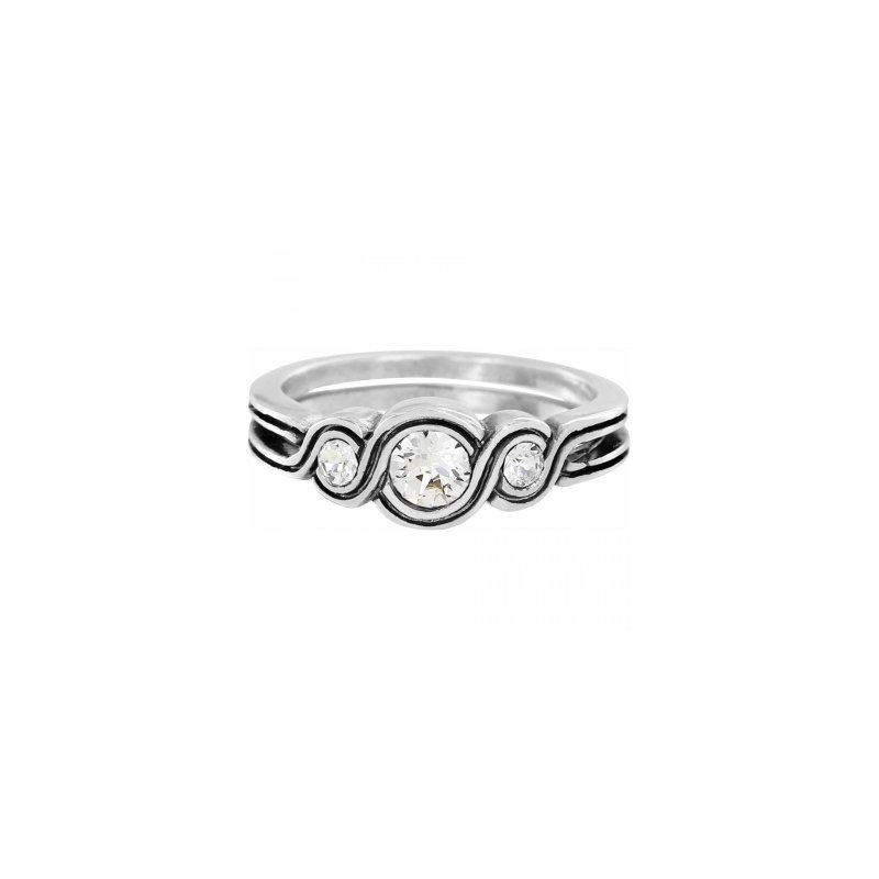 Brighton Infinity Sparkle Ring