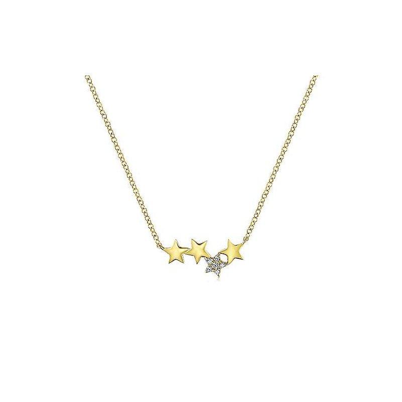Gabriel Fashion 14K Yellow Gold Fashion Necklace