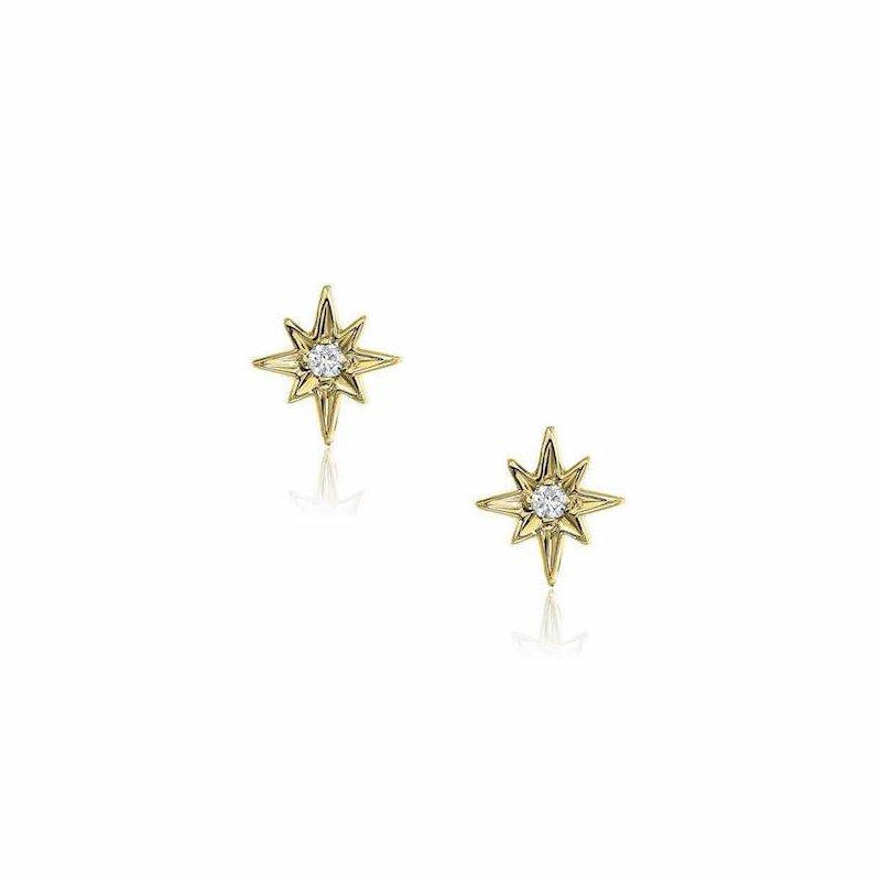 Liven Co. Petite Starburst Post Earrings