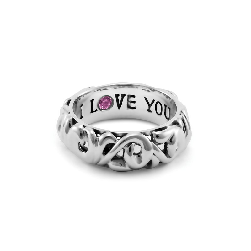 Charles Krypell 'I Love You' Ring