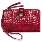 Brighton Bellissimo Heart Double Zip Wallet