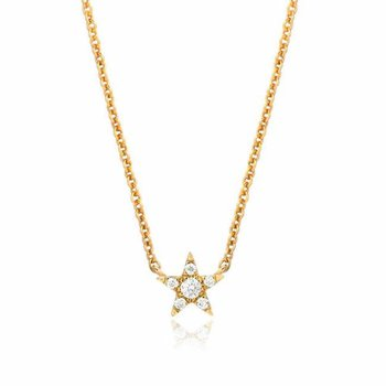 Petite Star Choker Necklace