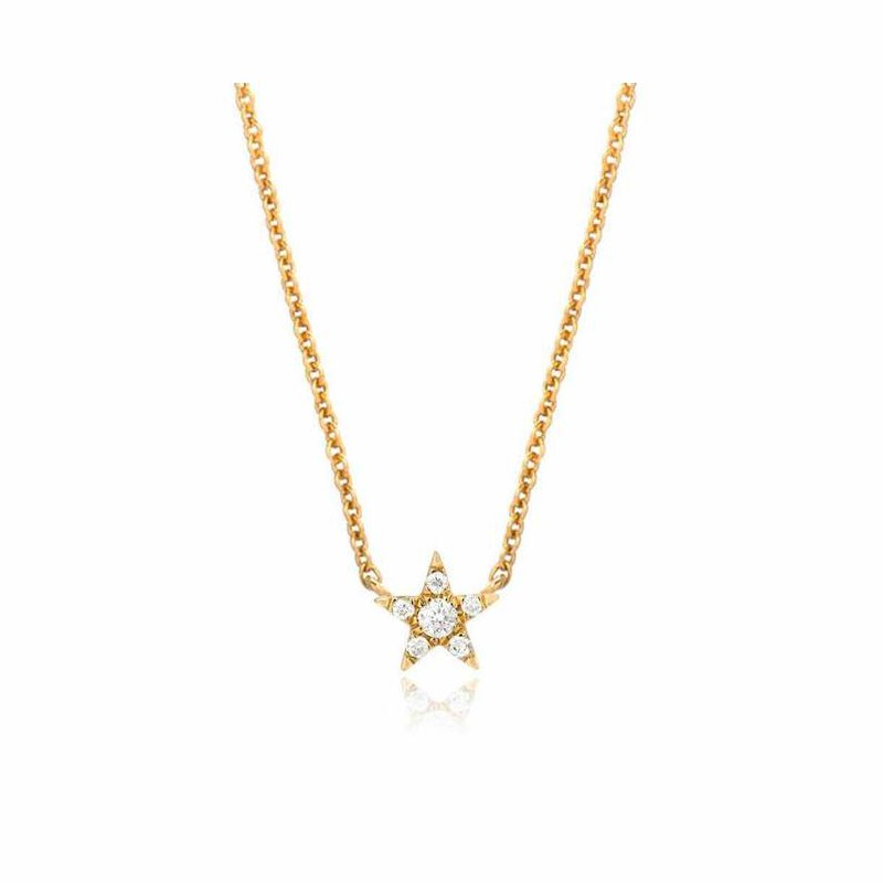 Liven Co. Petite Star Choker Necklace