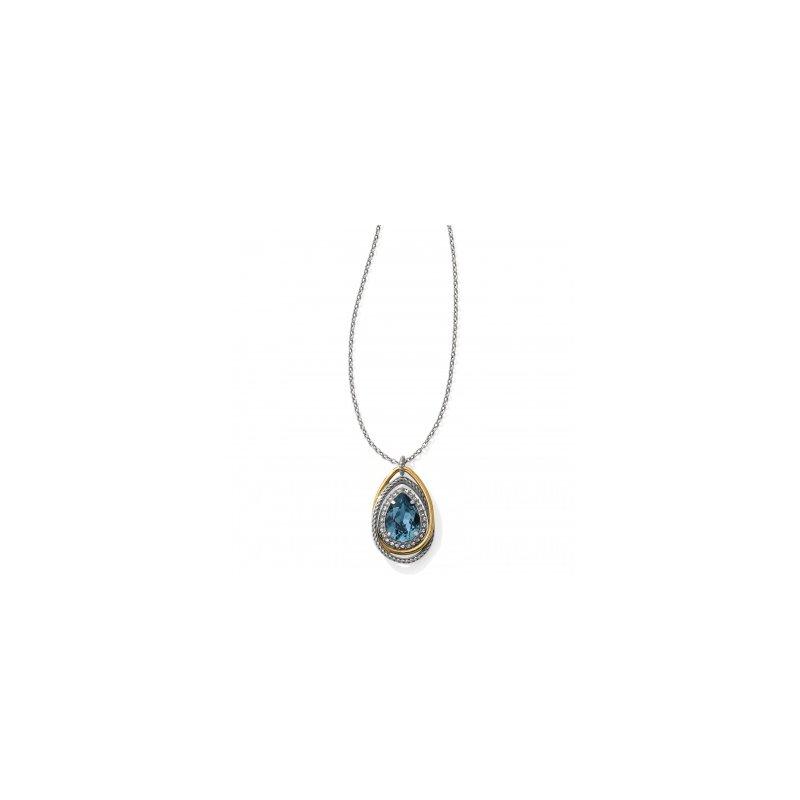 Brighton Neptune's Rings Gem Teardrop Necklace