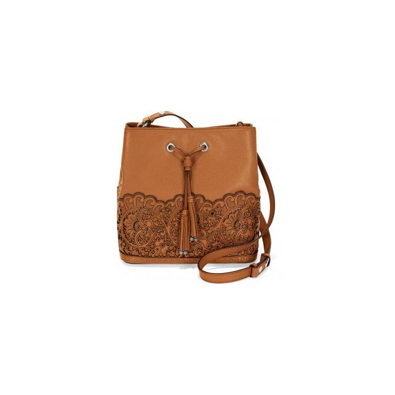 Brighton Clover Convertible Bucket Bag