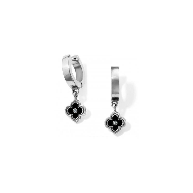 Brighton Toledo Alto Noir Huggie Earrings