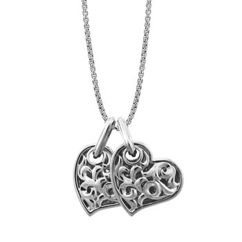'Two Hearts Beat As One' Necklace