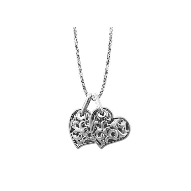 Charles Krypell 'Two Hearts Beat As One' Necklace