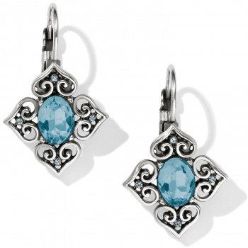 Alcazar Lagoon Leverback Earrings