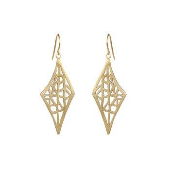 DIAMOND VANDA EARRINGS