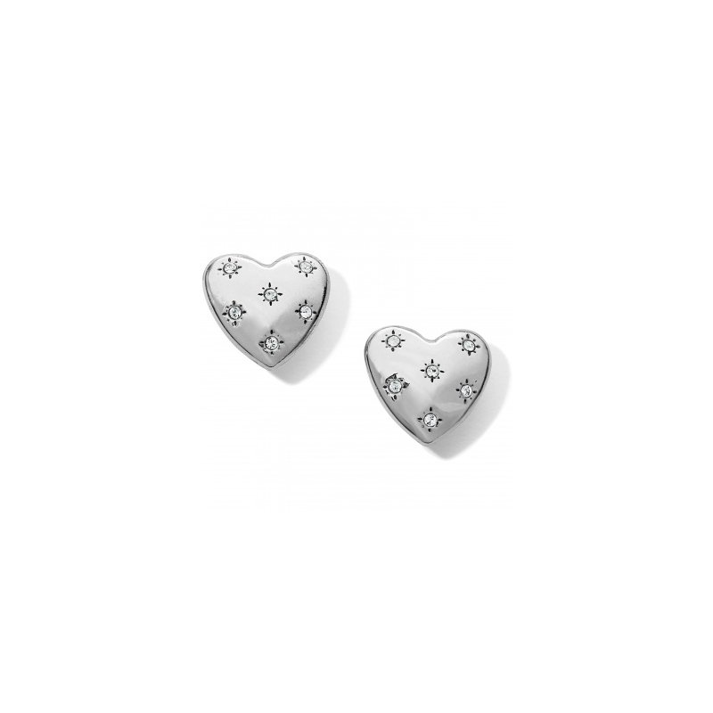 Brighton Stellar Heart Post Earrings