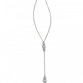 Infinity Sparkle Y Necklace