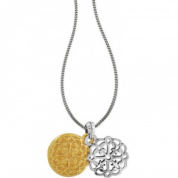 Ferrara Two Tone Reversible Long Necklace