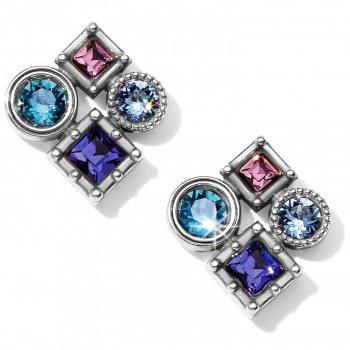 Halo Aurora Post Earrings
