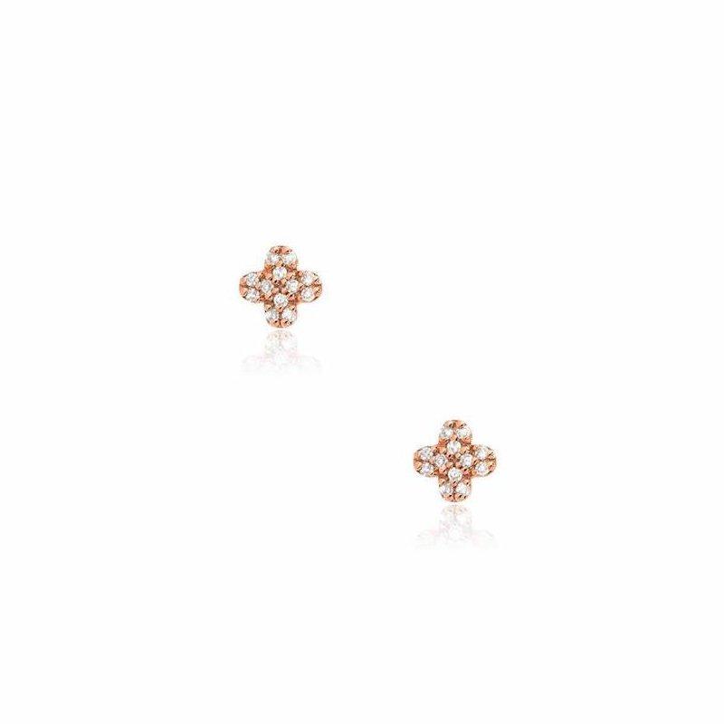 Liven Co. Petite Clover Earrings