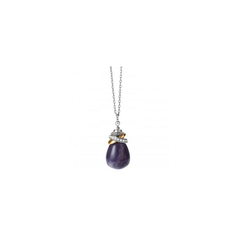 Brighton Neptune's Rings Amethyst Pendant Necklace