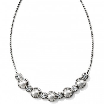 Infinity Pearl Necklace
