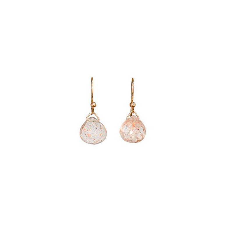 Hinchliffe Jewelry SUNSTONE EARRINGS