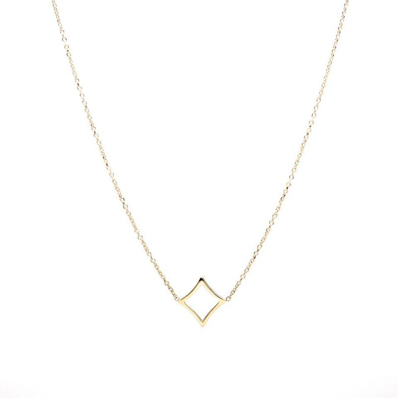 Hinchliffe Jewelry PETITE DIAMOND TERRAPIN NECKLACE