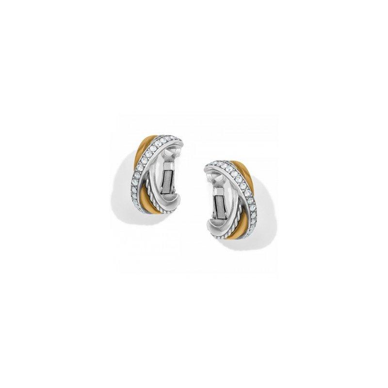 Brighton Neptune's Rings Post Clip Hoop Earrings