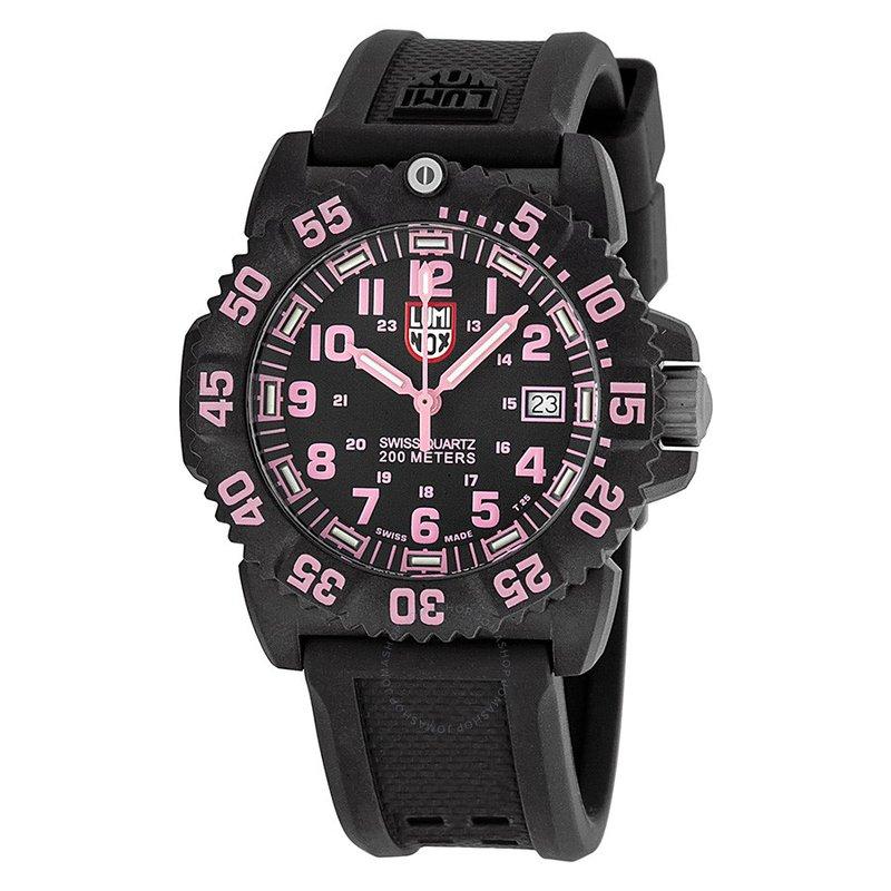 Luminox Colormark Black Dial Ladies Watch 7065