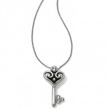 Alcazar Heart Key Necklace