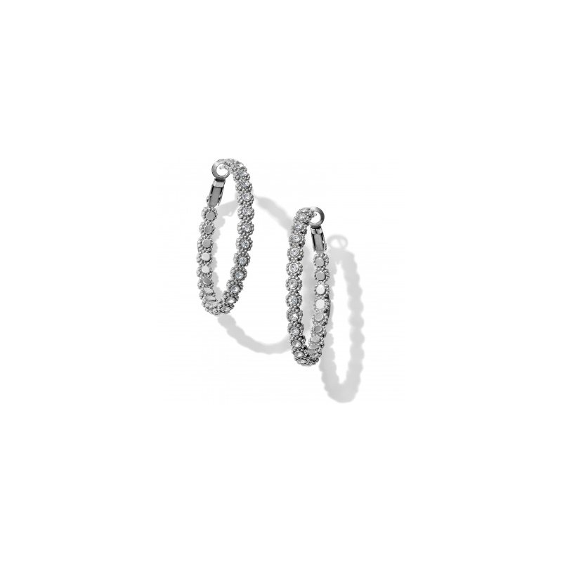 Brighton Twinkle Splendor Medium Hoop Earrings
