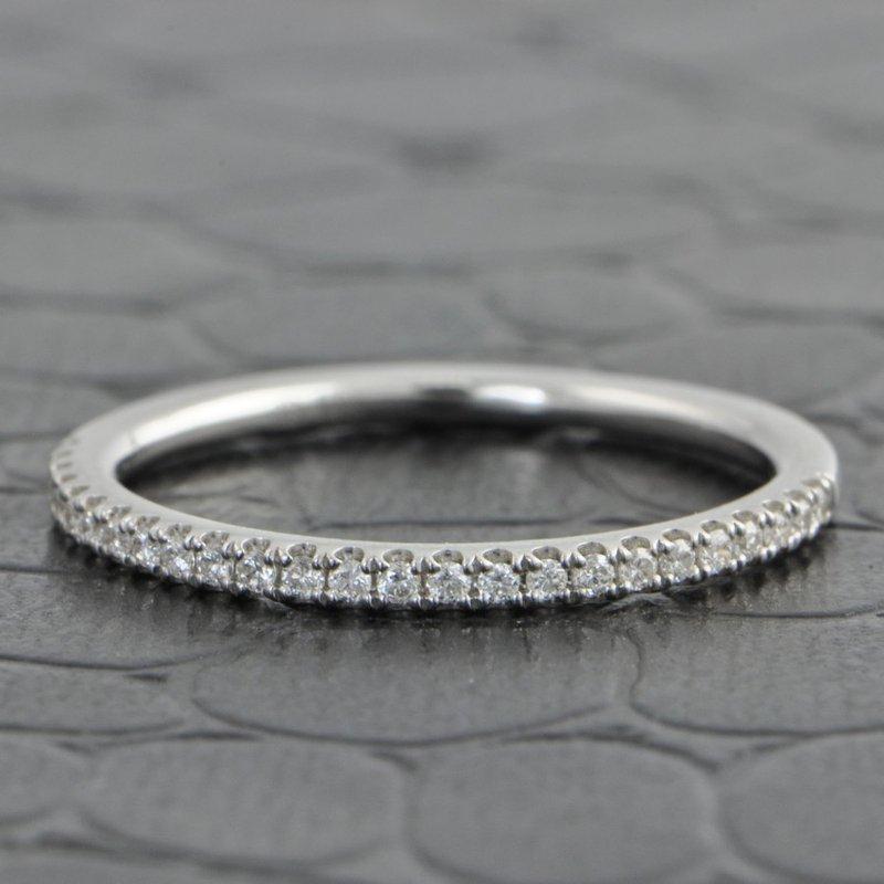 Imagine Bridal Diamond Wedding Band in White Gold
