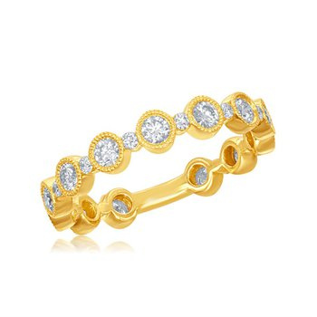 Diamond Wedding Bang in 18k Gold