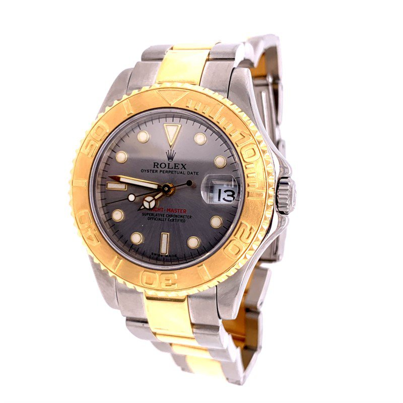Perry's Estate Collection Rolex Yacht Master Rolex Wrist Watch ca. 2002