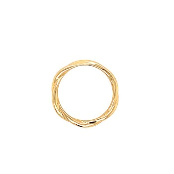 Twist Band in 14k Yellow Gold