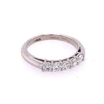 .55 CTW Diamond Wedding Band in Platinum