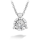 Hearts On Fire CLASSIC 3 PRONG SOLITAIRE PENDANT