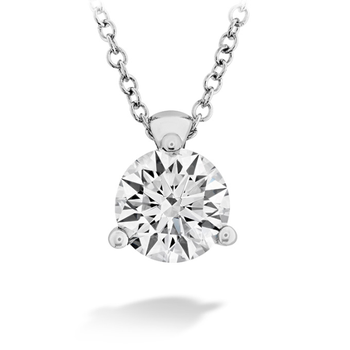 CLASSIC 3 PRONG SOLITAIRE PENDANT